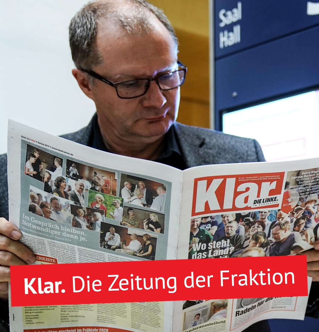 Start - Fraktion DIE LINKE. im Bundestag