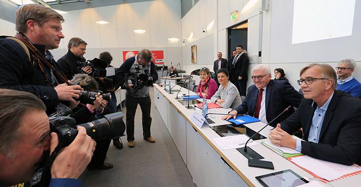 Frank-Walter Steinmeier zu Gast in der Fraktion