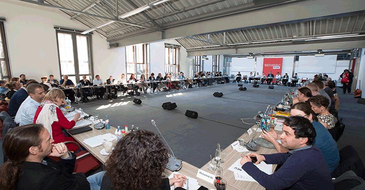 Fraktionsklausur in Potsdam om Oktober 2017