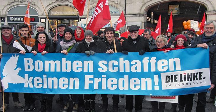 Demo gegen Sicheheitskonferenz München am 17. Februar 2018