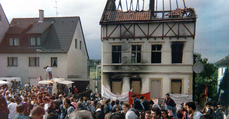 Brandanschlag in Solingen 1993 | Foto: wikimedia.org / Sir James (CC BY-SA 2.0 DE)
