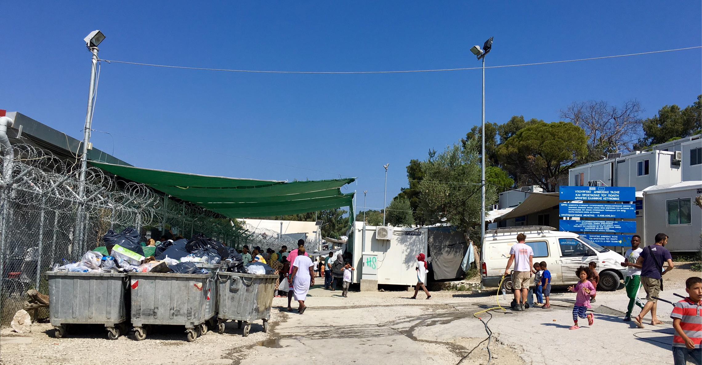 EU-Hotspot auf Lesbos