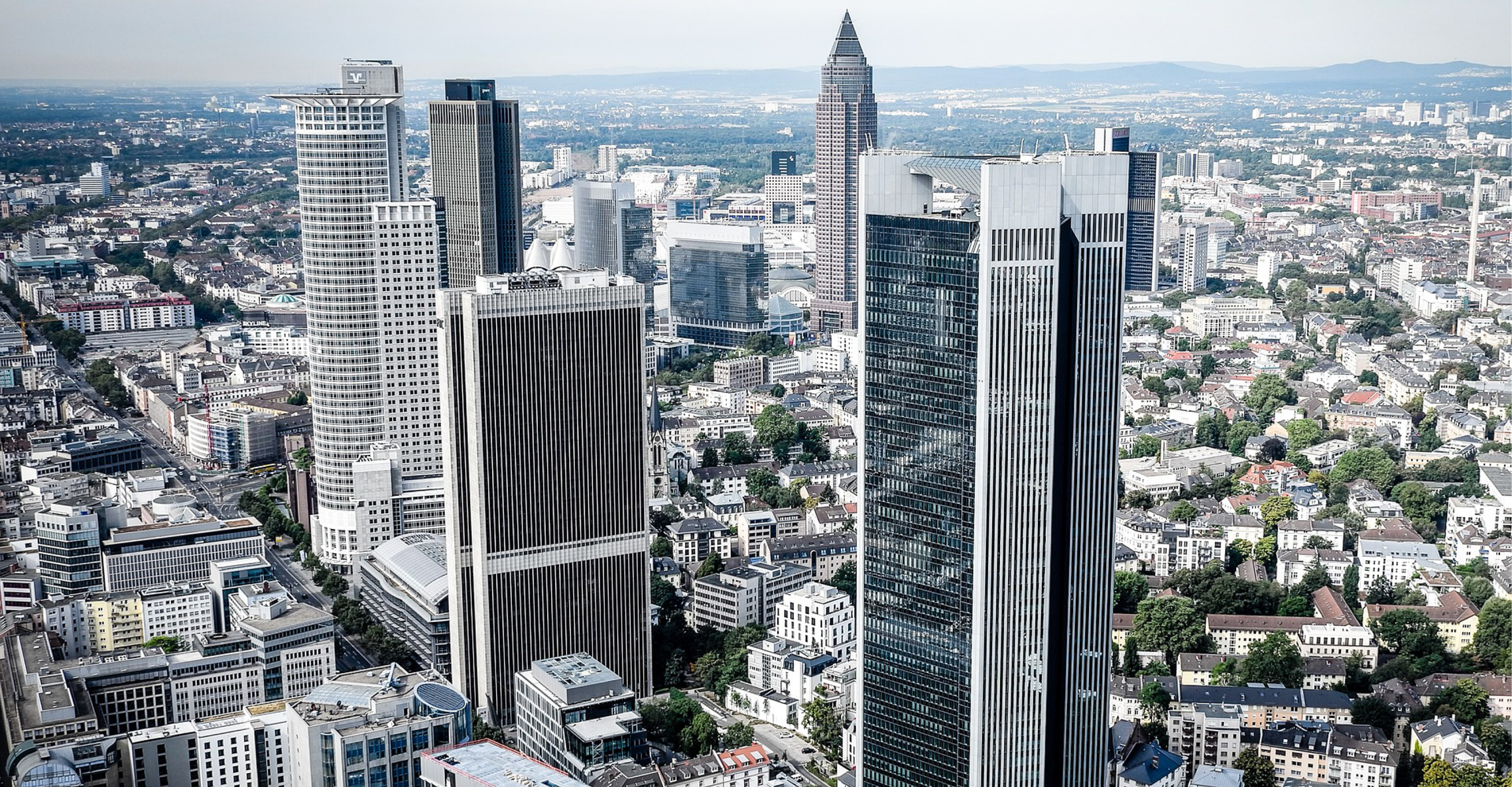 Banken in Frankfurt am Main © Pixabay/Piro4D