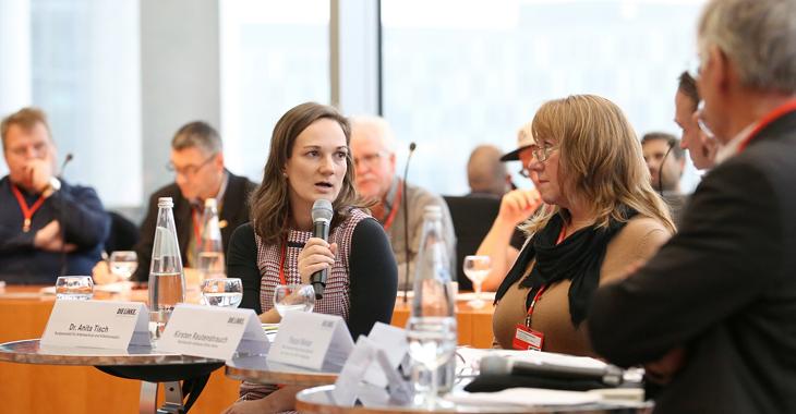 Eindrücke von der Betriebs- und Personalrätekonferenz 2018: Schutzgesetze verteidigen und ausbauen