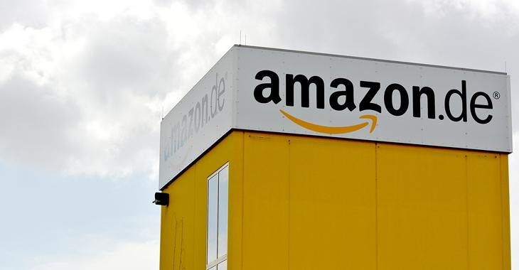 Amazon-Beschäftigte streiken für einen Tarifvertrag ©Flickr/LINKE NRW