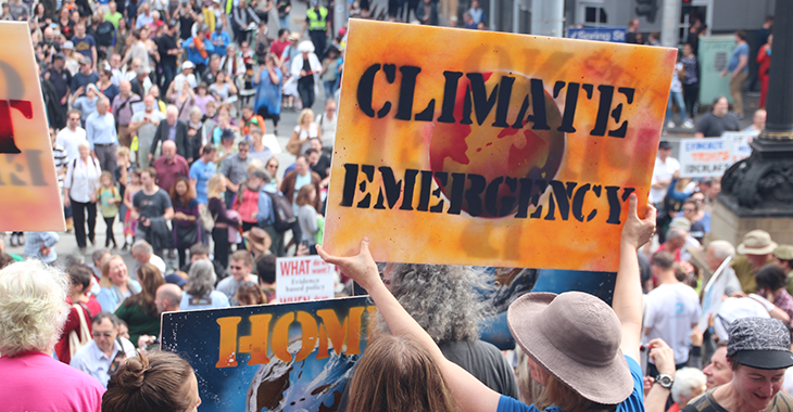 Climate emergency Melbourne MarchforScience on Earthday | Foto: Flickr.com/Takver (CC BY-SA 2.0)