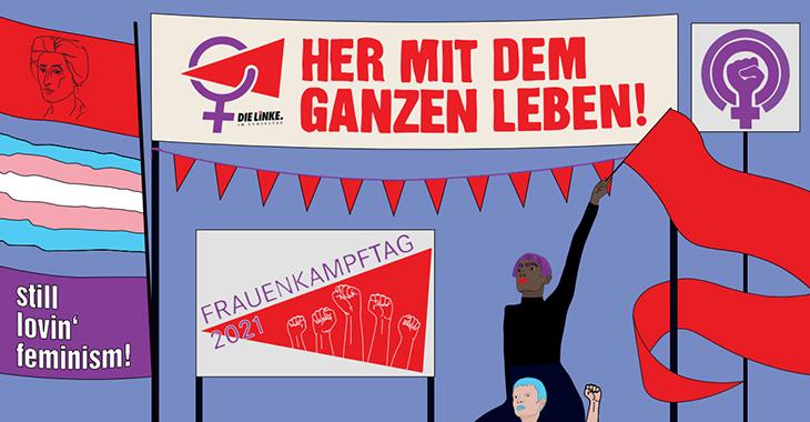 Frauenkampftag 2021 K. C. Zeuner