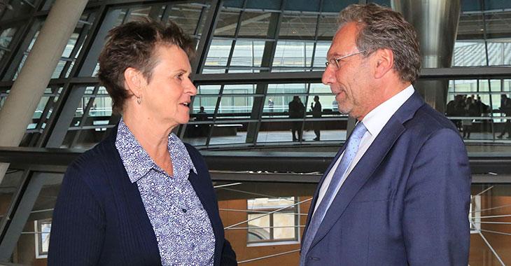 Sabine Zimmermann und Klaus Ernst