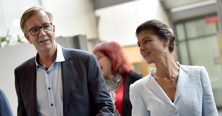 Dietmar Bartsch und Sahra Wagenknecht © Britta Pedersen/dpa