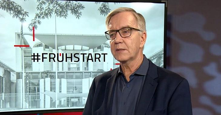 Dietmar Bartsch beim ntv-Frühstart