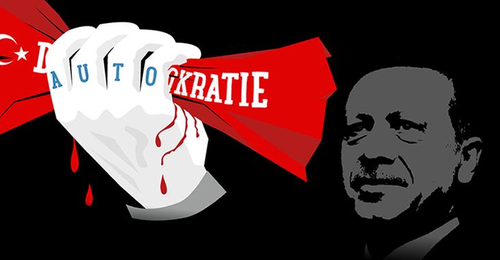 Autokrat Erdogan erdrückt die türkische Demokratie