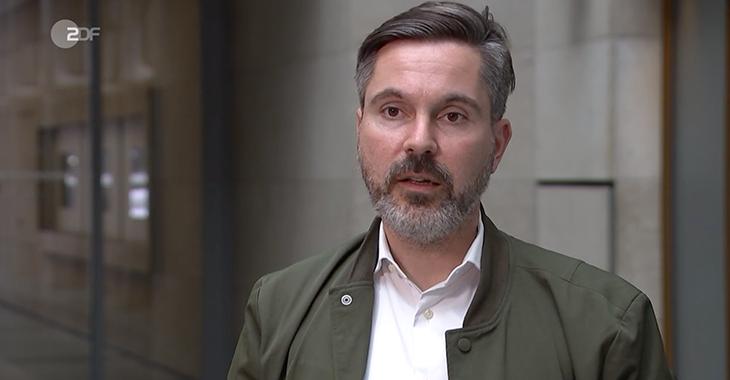 Fabio De Masi bei ZDF Heute