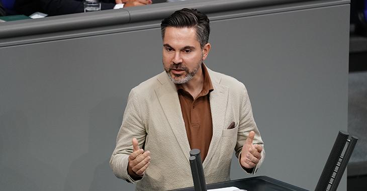Fabio De Masi im Plenum