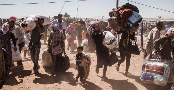 Syrische Flüchtlinge © UNHCR