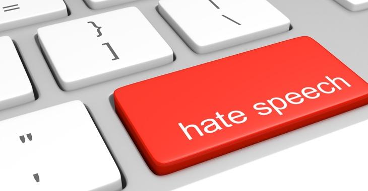 Computertastatur mit der Aufschrift Hate Speech © iStockphoto.com/Kagenmi