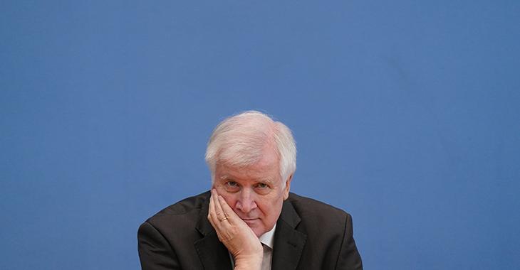 Bundesinnenminister Horst Seehofer @ ddp images/PoolGettyImages