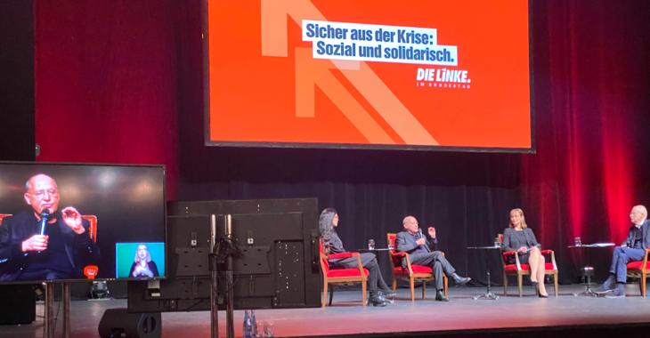 Jahresauftakt der Linksfraktion »Sicher aus der Krise: sozial und solidarisch« am 26. Januar 2021 aus dem Admiralspalast in Berlin