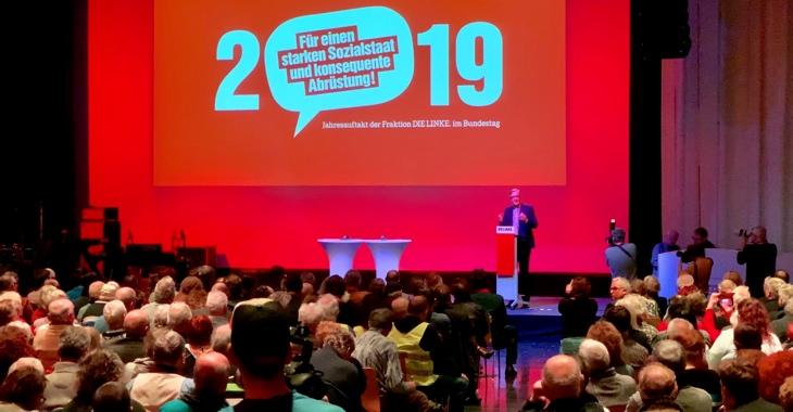 Politischer Jahresauftakt der Linksfraktion am 13. Januar 2019 im Kino Kosmos in Berlin