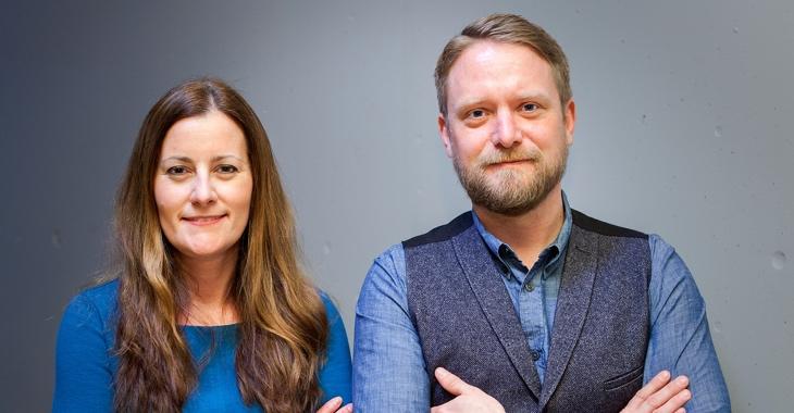 Janine Wissler und Jan Korte © Rico Prauss