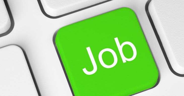 Grüne Computer-Tastertur mit der Aufschrift Job © iStockphoto.com/rvlsoft