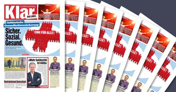 Fraktionszeitung Klar - Ausgabe April 2017