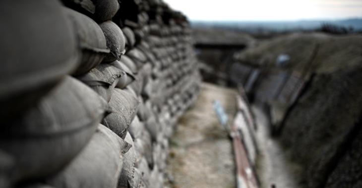 Schützengraben aus dem Ersten Weltkrieg in Frankreich zwischen Champagne und Argonne © REUTERS/Christian Hartmann