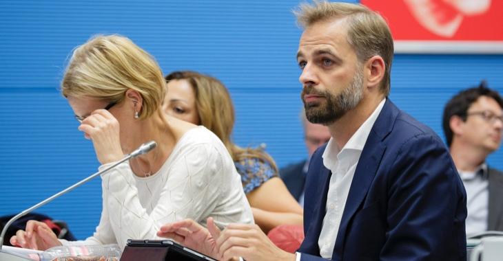 Stefan Liebich während einer Fraktionssitzung © DBT/Thomas Imo/photothek