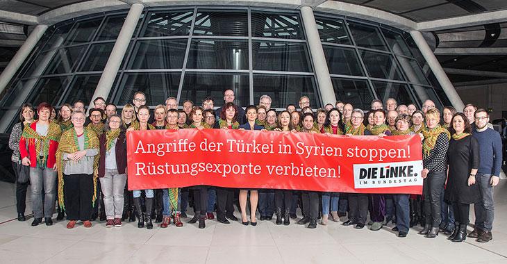 Die Fraktion DIE LINKE fordert: Angriffe der Türkei in Syrien stoppen!