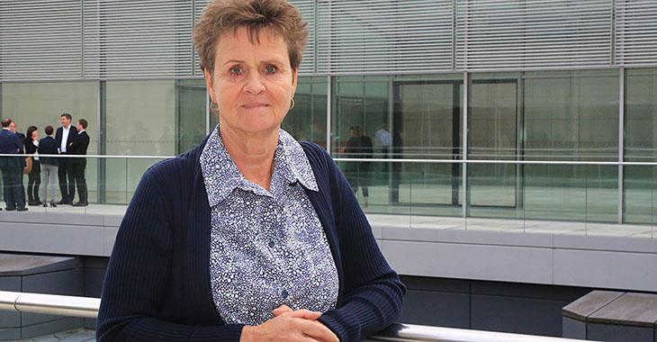 Sabine Zimmermann im Bundestag