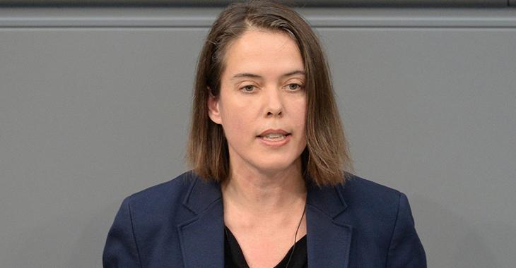 Christine Buchholz | Foto: © Deutscher Bundestag / Achim Melde