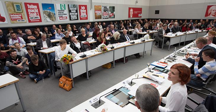 Erste Fraktionssitzung nach der Bundestagwahl am 26. September 2017