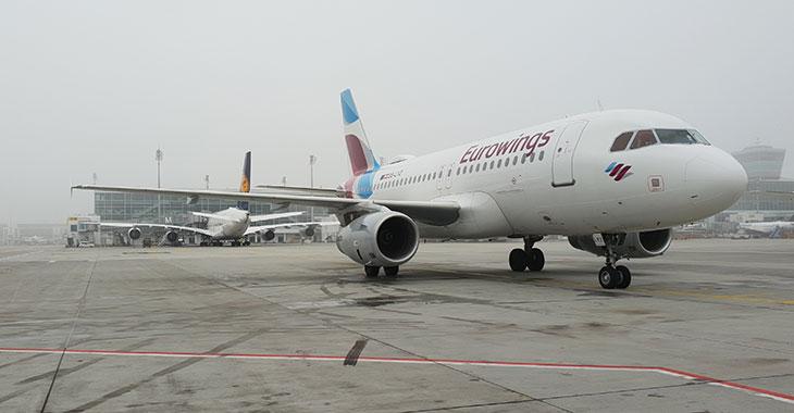 Flugzeuge auf dem Flughafen München