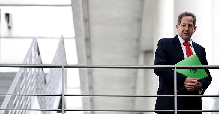 Belastet: Verfasssungsschutzpräsident Hans-Georg Maaßen