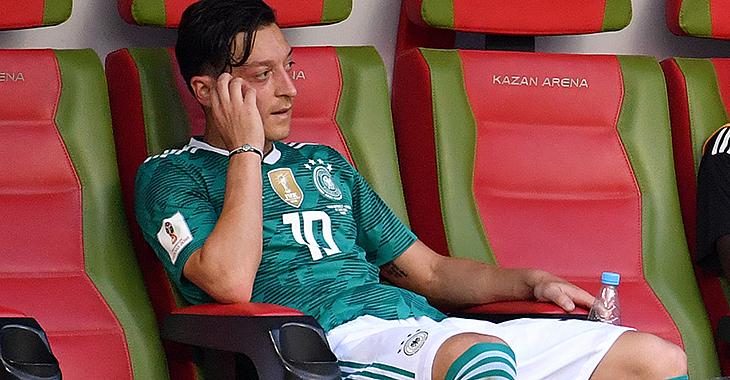 Enttäuscht: Mesut Özil