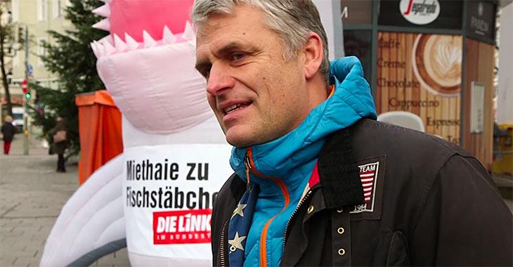 """Miethaie zu Fischstäbchen - Ein Mann aus München sagt: """"Was jetzt passiert, ist nur der Anfang."""""""