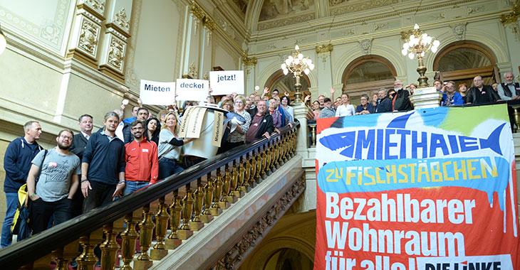 Mietenpolitischer Ratschlag in Hamburg: Klare Forderungen, gute Stimmung
