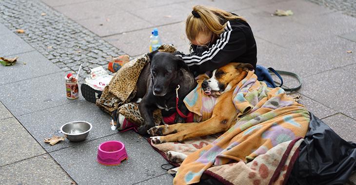 Obdachlose in Berlin ©istockphoto/olaser