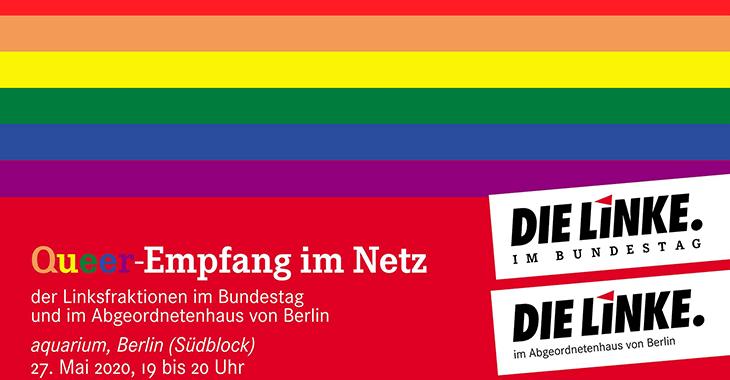 Einladung zum virtuellen Queer-Empfang