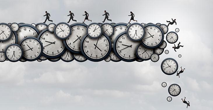 Schuften rund um die Uhr: Gesundheitsrisiko atypische Beschäftigungszeiten