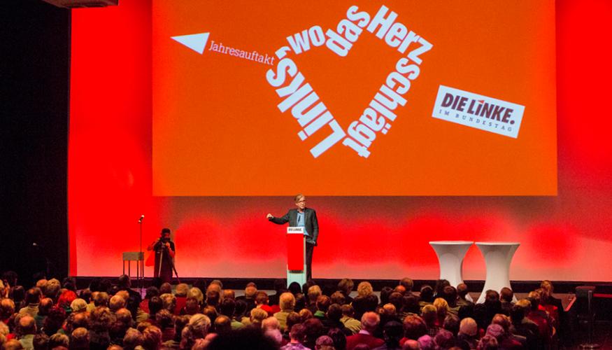 Politischer Jahresauftakt der Fraktion DIE LINKE. im Bundestag