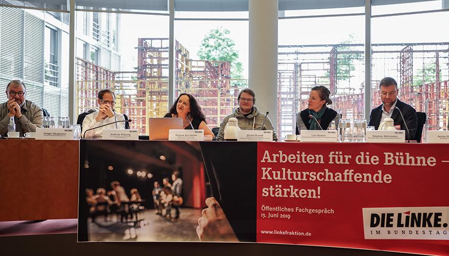 Fachgespräch »Ohne Kultur ist alles nichts« am 13. Juni 2019 im Bundestag © Olaf Krostiz