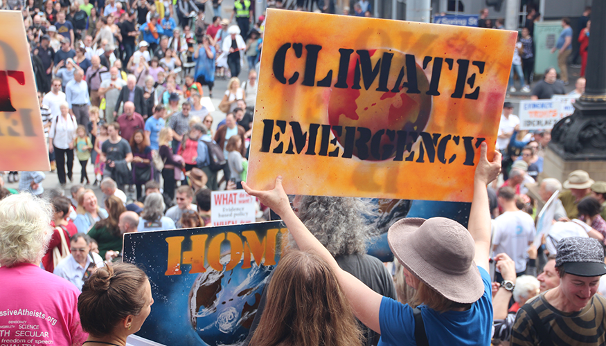 875x500 Climate emergency Melbourne MarchforScience on Earthday | Foto: Flickr.com/Takver (CC BY-SA 2.0)