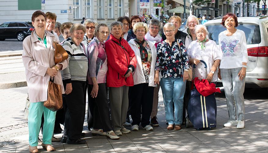Mitglieder des Vereins der in der DDR geschiedenen Frauen in Magdeburg | Foto (c) Julia Nowak
