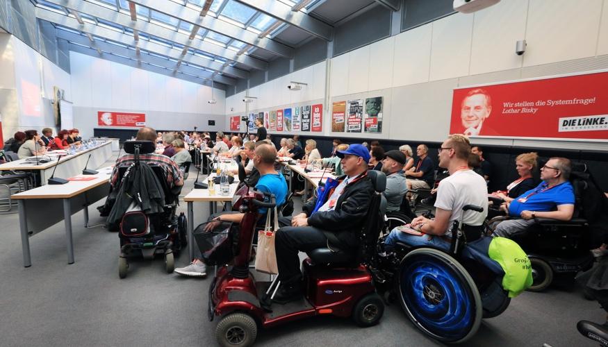 Konferenz »Teilhabe mit LINKS« am 9. September 2016 im Clara-Zetkin-Saal des Bundestages