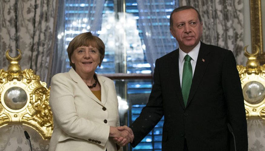 Merkel und Erdogan | © picture-alliance