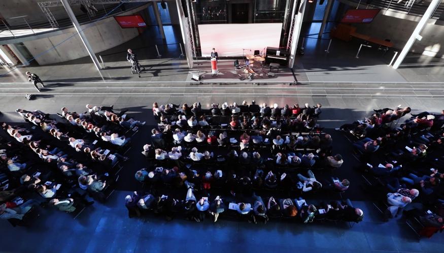 Konferenz »Quo vadis Türkei-Deutschland« am 27. März 2017 in Berlin (Vogelperspektive)