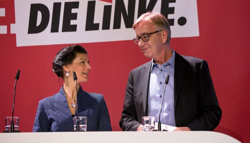 Sahra Wagenknecht und Dietmar Bartsch © dpa