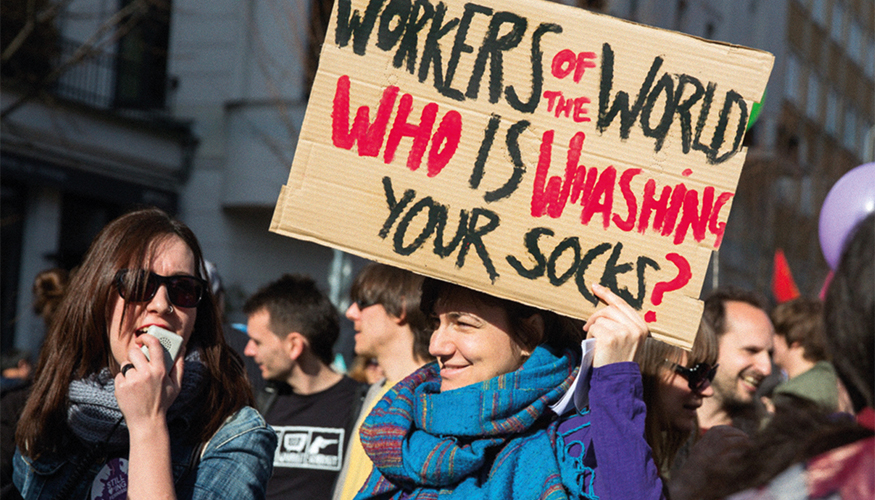 Titel des feministischen Fraktionsmagazins LOTTA Ausgabe 12, Dezember 2016